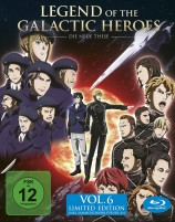 Legend of the Galactic Heroes: Die Neue These - Volume 6 / inkl. Sammelschuber (Blu-ray)
