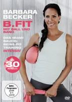Barbara Becker - B.fit mit Ball und Band - Das Miami Bauch-Beine-Po Training intensiv (DVD)