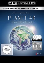 Planet 4K - Unsere Erde in Ultra HD - Die komplette Serie / 4K Ultra HD Blu-ray + Blu-ray (4K Ultra HD)