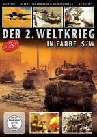 Panzer-Divisionen, Sturmtruppen, Panzer-Abwehr - Der 2. Weltkrieg in Farbe & schwarz-weiß (DVD)