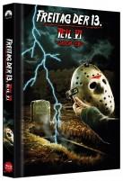 Freitag der 13. - Teil VI (6) - Jason lebt - Collector's Edition / Cover C (Blu-ray)