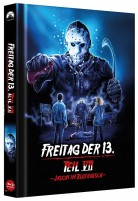 Freitag der 13. - Teil VII - Jason im Blutrausch - Collector's Edition / Cover D (Blu-ray)