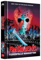 Freitag der 13. - Teil VIII - Todesfalle Manhattan - Collector's Edition / Cover B (Blu-ray)