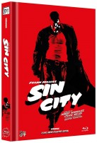 Sin City - Kinofassung + Recut / Limited Collector's Edition / Cover B (Blu-ray)