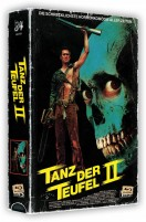 Tanz der Teufel 2 - VHS-Box / 4K Ultra HD Blu-ray + Blu-ray / Cover A (4K Ultra HD)