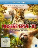 Unsere Erde 3D - Faszination an Land - Blu-ray 3D + 2D (Blu-ray)