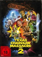 The Texas Chainsaw Massacre 2 - Limited Edition Mediabook (Blu-ray)