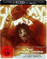 The Texas Chainsaw Massacre - Blutgericht in Texas - 4K Ultra HD Blu-ray + 2 Blu-ray-Discs / Turbine Steel Collection (4K Ultra HD)