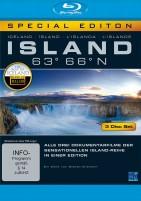 Island 63° 66° N - Eine phantastische Reise durch ein phantastisches Land - New Edition (Blu-ray)