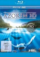 Die Azoren 3D - Auf den Spuren von Entdeckern, Walen und Vulkanen - Teil 1-3 / Blu-ray 3D + 2D / New Edition (Blu-ray)