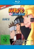 Naruto Shippuden - Staffel 23 / Der Ursprung des Ninshu - Die zwei Seelen, Indora und Ashura (Blu-ray)