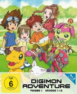 Digimon Adventure - Staffel 1.1 / Episode 01-18 (Blu-ray)