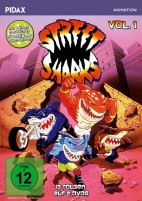 Street Sharks - Pidax Animation / Vol. 1 (DVD)