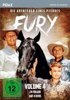 Fury - Die Abenteuer eines Pferdes - Pidax Serien-Klassiker / Vol. 4 (DVD)