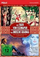 Der Tiger von Eschnapur & Das indische Grabmal - Remastered Edition / Pidax Film-Klassiker (DVD)