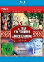 Der Tiger von Eschnapur & Das indische Grabmal - Remastered Edition / Pidax Film-Klassiker (Blu-ray)