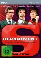 Department S - Pidax Serien-Klassiker / Komplettbox (DVD)