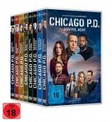 Chicago P.D. - Die komplette Staffel 1+2+3+4+5+6+7+8 im Set (DVD)