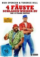 Bud Spencer & Terence Hill - 4 Fäuste schlagen wieder zu! - 15 Filme Edition (DVD)