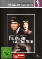 Der Mann, der zuviel wusste - Alfred Hitchcock Collection (DVD)