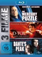 Das Mercury Puzzle & D-Tox & Dante's Peak - 3 Filme Box (Blu-ray)