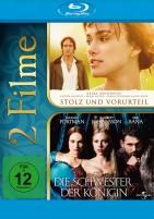 Stolz und Vorurteil & Die Schwester der Königin (Blu-ray)