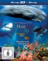 IMAX - Delfine und Wale 3D & Haie 3D & Wunderwelt Ozeane 3D - Blu-ray 3D / Box (Blu-ray)