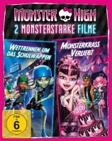 Monster High - Monsterkrass verliebt & Wettrennen um das Schulwappen (Blu-ray)
