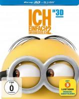 Ich - Einfach Unverbesserlich 2 - Blu-ray 3D + 2D / Limitiertes Steelbook (Blu-ray)