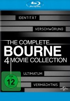 The Complete Bourne 4 Movie Collection (Blu-ray)