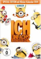 Ich - Einfach Unverbesserlich 2 - Special Edition mit Minion-Kalender 2014 (DVD)