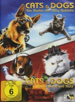 Cats & Dogs - Wie Hund und Katz & Cats & Dogs - Die Rache der Kitty Kahlohr (DVD)