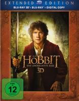 Der Hobbit - Eine unerwartete Reise - Blu-ray 3D + 2D / Extended Edition (Blu-ray)