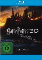 Harry Potter und die Heiligtümer des Todes: Teil 1 + 2 3D - Blu-ray 3D (Blu-ray)