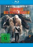 Rampage - Big meets Bigger - Blu-ray 3D (Blu-ray)
