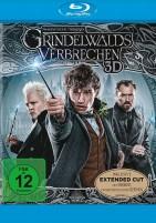 Phantastische Tierwesen: Grindelwalds Verbrechen - Blu-ray 3D + 2D / Kinofassung & Extended Cut (Blu-ray)