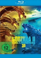 Godzilla II: King of the Monsters - Blu-ray 3D (Blu-ray)