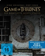 Game of Thrones - Staffel 08 / 4K Ultra HD Blu-ray + Blu-ray / Limited Steelbook (4K Ultra HD)