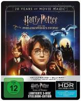 Harry Potter und der Stein der Weisen - 4K Ultra HD Blu-ray + Blu-ray / Jubiläumsedition / Steelbook / Magical Movie Mode (4K Ultra HD)