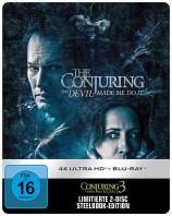 Conjuring 3: Im Bann des Teufels - 4K Ultra HD Blu-ray + Blu-ray / Limited Steelbook (4K Ultra HD)