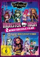 Monster High - 13 Wünsche & Scaris - Monsterstadt der Mode (DVD)