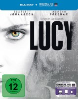 Lucy - Steelbook (Blu-ray)