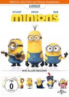 Minions - Special Edition mit Minion-Postkarten (DVD)