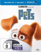 Pets - Blu-ray 3D + 2D / Steelbook (Blu-ray)