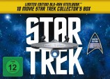 Star Trek I-X - Steelbook Collector's Box inkl. Anstecknadel + T-Shirt  (Blu-ray)