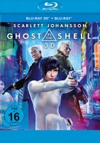 Ghost in the Shell - Blu-ray 3D + 2D (Blu-ray)