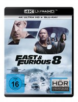 Fast & Furious 8 - 4K Ultra HD Blu-ray + Blu-ray (4K Ultra HD)