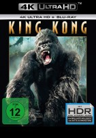 King Kong - 4K Ultra HD Blu-ray + Blu-ray / Extended + Kinofassung (4K Ultra HD)