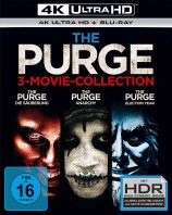 The Purge - 3 Movie-Collection (4K Ultra HD)