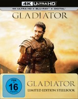 Gladiator - 4K Ultra HD Blu-ray + Blu-ray / Limited Steelbook (4K Ultra HD)